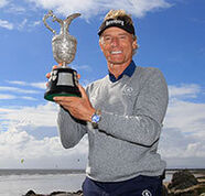 american golf News: More records tumble as Langer claims third Senior Open victory