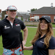 Video: Chloe-Allyn and AGTV @ Mike Tindall's Golf Day