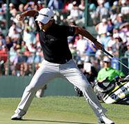 american golf News: Harman snaps DJ's streak with dramatic win