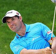 american golf News: Freak injury for Harrington