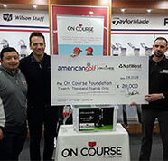 AG News: American Golf Customers Raise £20,000 For On Course Foundation
