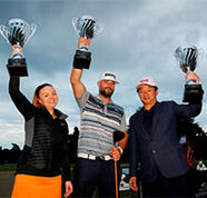 american golf News: The big hitters were out at the American Golf 2017 Long Drive finals
