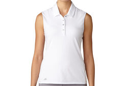 adidas Golf Essentials Cotton Hand Ladies Polo Shirt