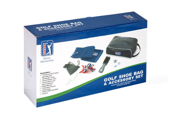 PGA Tour Shoe Bag Acc Set