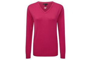 Palm Grove Core V-Neck Ladies Sweater