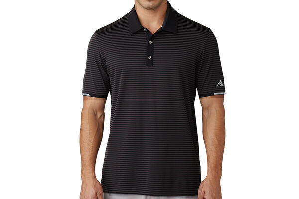adidas Golf climachill Tonal Stripe Polo Shirt