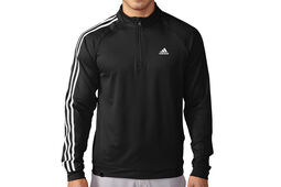 adidas Golf 3 Stripes Fleeced Windtop