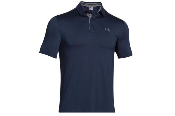 Under Armour Playoff Heather Stripe Polo Shirt
