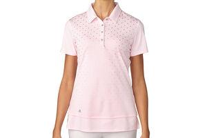 adidas Golf Printed Ladies Polo Shirt