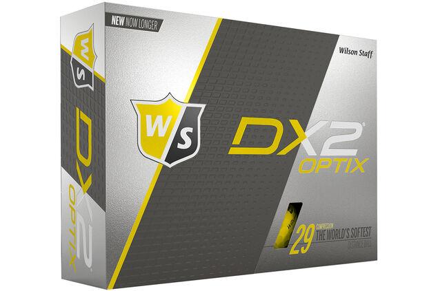 Wilson Staff DX2 Optix 12 Golf Ball Pack