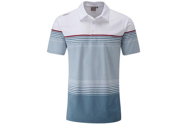 Ping Polo Ronan Eng Stripe W7