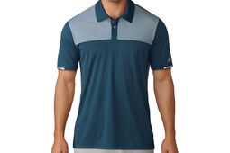 adidas Climachill Heather Block Competition Polo Shirt