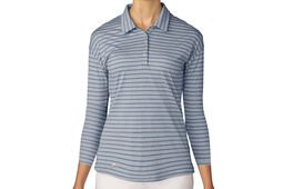 adidas Golf Long Sleeve Ladies Polo Shirt