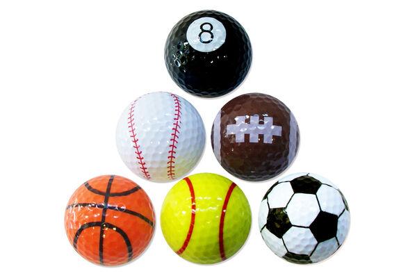 PGA Tour 6PK Sports Balls
