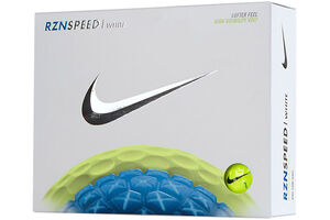 Nike Golf RZN Speed White 12 Ball Pack