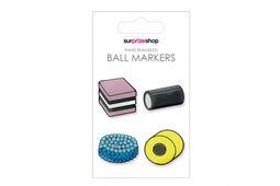 Surprizeshop Ladies Liquorice Allsorts Ball Marker Set