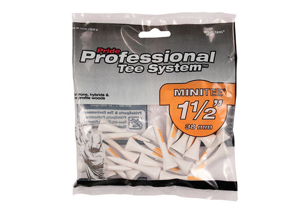 Pride Professional MINI Golf Tees - 25 Pack