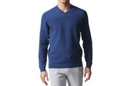 adidas Golf 3-Stripe V-Neck Sweater