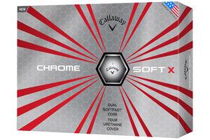 Callaway Golf Chrome Soft X 12 Ball Pack 2017