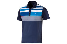 PUMA Golf Road Map Asym Junior Polo Shirt