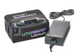 Motocaddy LitePower 15Ah Standard Range Lithium Battery & Charger