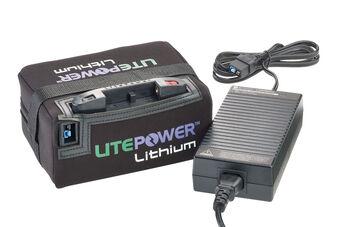 MC LitePower Lith BattAndCharg