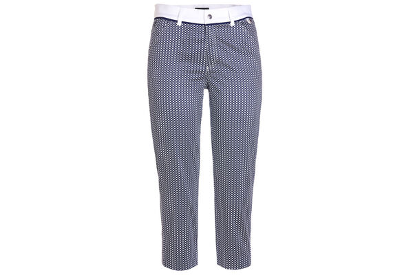 GOLFINO Printed Capri Ladies Trousers
