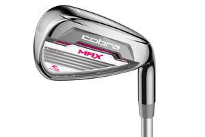 Cobra Golf MAX Ladies Irons Graphite 5 SW