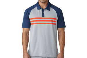 adidas Golf climacool 3 Stripe Competition Polo Shirt