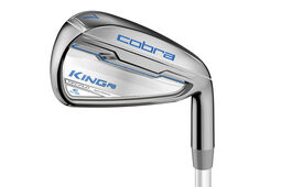 Cobra Golf King F6 Silver Graphite Ladies Irons