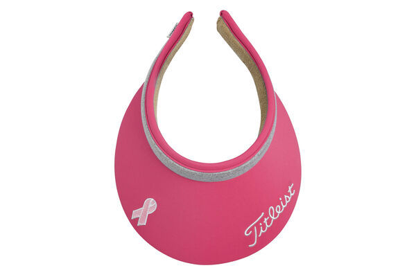 Titleist Visor Pink Ribbon S7