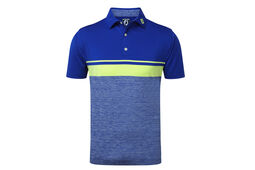 FootJoy Stretch Lisle Colour Block Polo Shirt