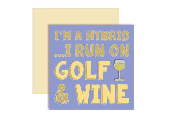 SurprizeShop Golf & Wine Ball Marker Card