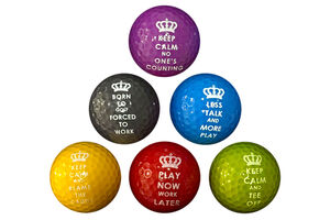 PGA Tour Novelty 6 Ball Pack