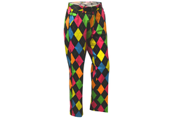 Royal & Awesome Disco Diamond Trousers
