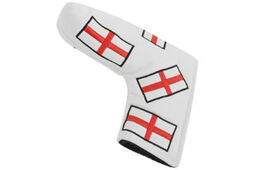 Masters Golf HeadKase England Flag Putter Cover