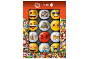 Emoji Golf 12 Ball Gift Pack