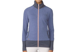 adidas Golf Rib-Knit Ladies Wind Jacket