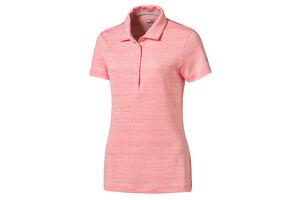 PUMA Golf Heather Stripe Ladies Polo Shirt