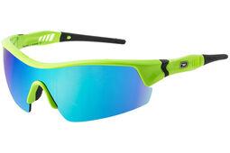 Dirty Dog Edge Blue Fusion Green Golf Sunglasses