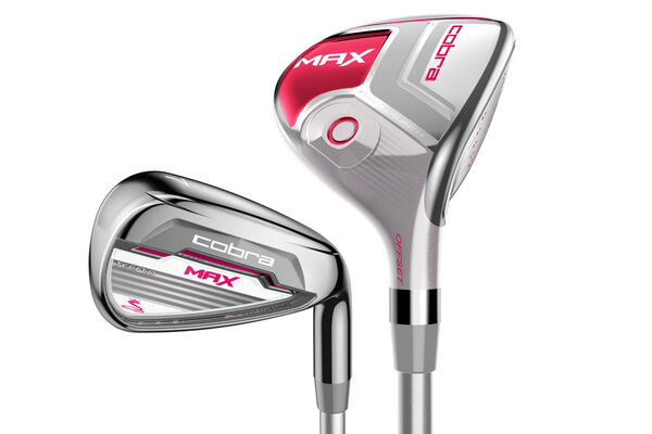 Cobra Golf MAX 4-5 Hybrid & Irons Ladies Graphite 6-SW