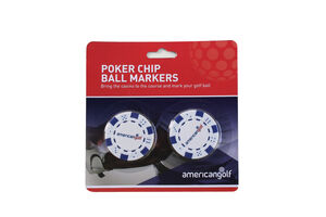 American Golf Poker Chip 2 Pack