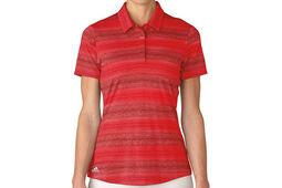 adidas Golf Multi Melange Ladies Polo Shirt