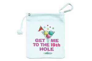 SurprizeShop Get Me To The 19th Hole Tee Accessory Bag