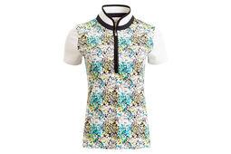 Calvin Klein Printed Ladies Polo Shirt
