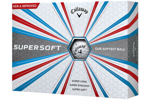Callaway Golf Supersoft 12 Ball Pack 2017