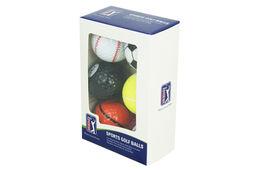 PGA Tour Sports Balls 6 Pack