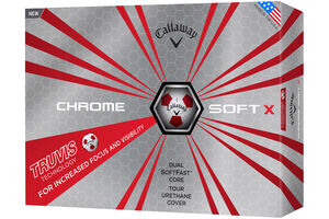 Callaway Golf Chrome Soft X Truvis 12 Ball Pack 2017
