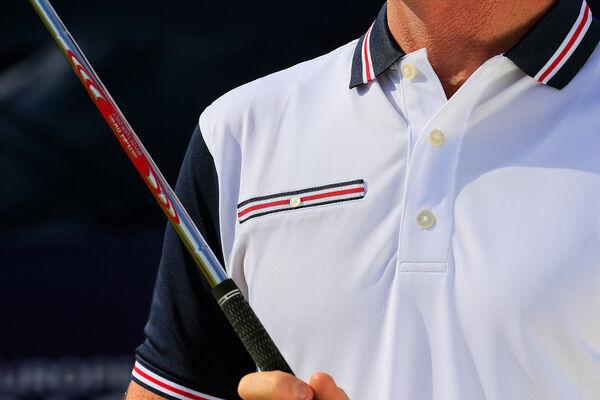 FJ Polo Stretch Pique Trims W6