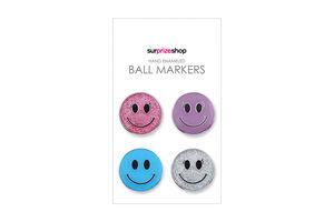 SurprizeShop Ladies Smiley Ball Marker Set